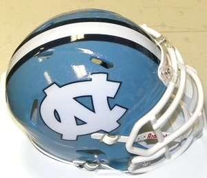 Carolina Tar Heels Riddell NCAA Revolution Speed Mini Football Helmet
