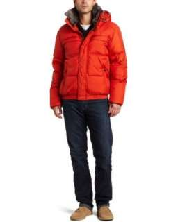 York By Andrew Marc Mens Union 27.5 Inch Down Bomber Jacket Clothing