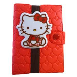 High Class Quilted Diary   Hello Kitty Agenda Book (Red) Toys & Games