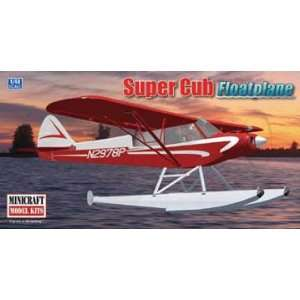 48 Piper Super Cub with Floats Airplane Model Kit: Toys & Games