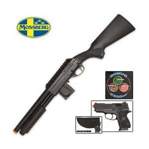 Mossberg Tactical Full Stock Spring Airsoft Shotgun Kit