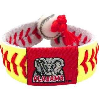 NCAA Alabama Crimson Tide A Logo Classic Softball Bracelet