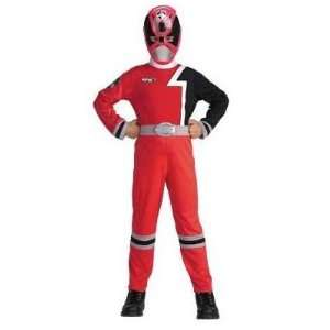 Red Power Rangers SPD Standard Costume (Size 4 6) Toys & Games