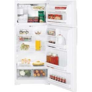 com GE GTS18GBSWW 18.2 cu. ft. Freestanding Top Freezer Refrigerator