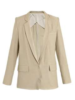 Blake linen jacket  Acne