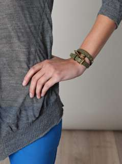 Leather wrap bracelet  Alexander McQueen