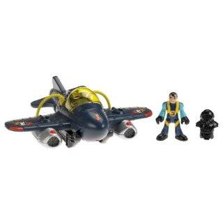 Kids Bump & Go Military Fighter Jet Plane w/ Lights and