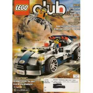 LEGO CLUB Magazine July   August 2008   Includes Bionicle Battle