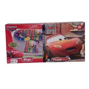 Disney Cars BINGO Game and Puzzle Set Toys & Games