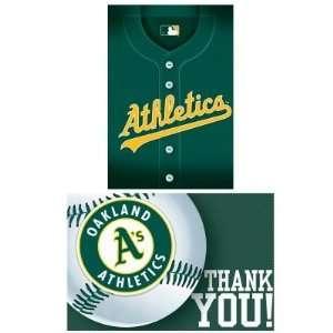 Costumes 203855 Oakland Athletics Baseball  Invite & Thank