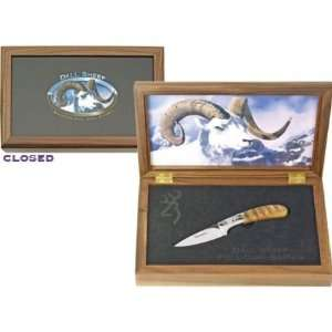 Browning Knives 405 Dall Sheep Big Horn Sheep Limited Edition Fixed
