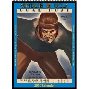 Vintage UCLA Bruins 2010 Football Program Calendar