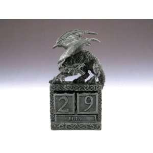 Dragon Calendar Statue Figurine