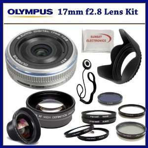 Lens Hood, Lens Cap Keeper, and SSE Microfiber Cleaning Cloth Camera