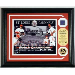 ST. LOUIS CARDINALS WS Ring Ceremony Authenticated 2006 WS GAME USED