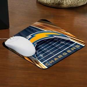 San Diego Chargers Team Logo Mousepad