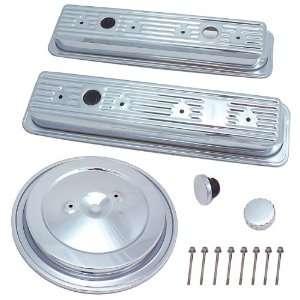 Spectre 5401 Chrome Engine Kit Automotive