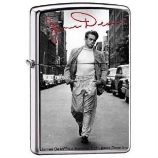 Zippo Custom Lighter   James Dean Actor Not Forgotten Signature Design