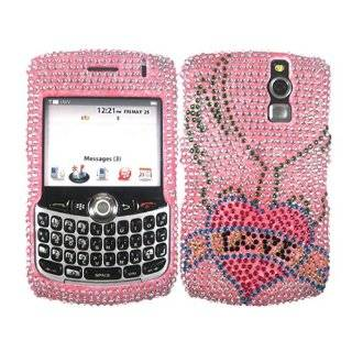 8330 Cell Phone Glitter Diamond Crystals Bling Protective Case Cover