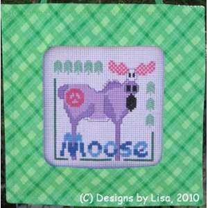 Peace Moose   Cross Stitch Pattern: Arts, Crafts & Sewing
