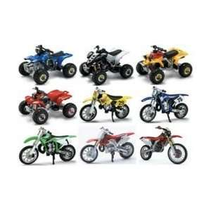 06227B 1/32 Dirt Bike & ATV Asst (24) Toys & Games