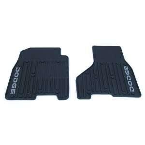 OEM Dodge Ram Slush Style Floor Mats   In Dark Slate with Dodge Logo