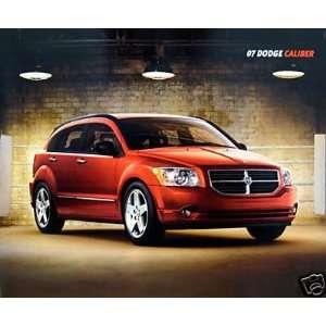 2007 Dodge Caliber vehicle brochure   2nd printing