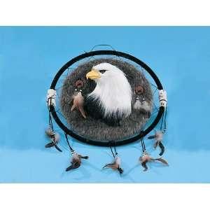 Bald Eagle Dream Catcher Decoration Figurine Figure