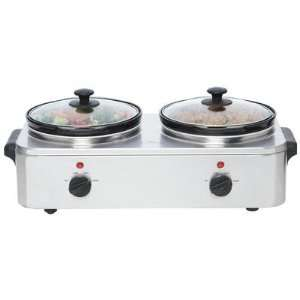 COOKER/SERVER 2.5QT 2X (Cookware   Electric Skillets): Home & Kitchen