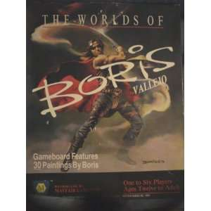 The Worlds of Boris Vallejo  Toys & Games