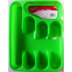 Assorted Colors   Plastic Cutlery Trays Case Pack 36