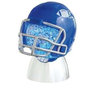 Blue Football Helmet Mini Shimmer Light with Magnet