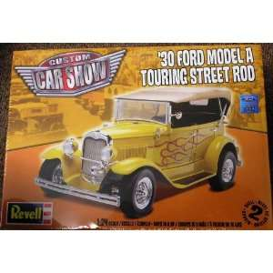 1930 Ford Model A Touring Street Rod 1 24 Revell Monogram