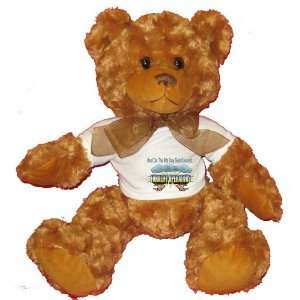 And On The 8th Day God Created FORKLIFT OFPERATORS Plush Teddy Bear