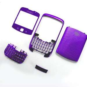 New Purple Full Housing Cover Faceplate Bezel Fascia Plate Panel Frame