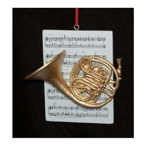 Russel Rhodes ROM894453FRH French Horn with Musical Score