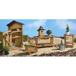 Collectible Miniature Gardening Furniture Set