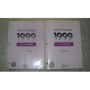 1999 Chevrolet Chevy Geo Tracker Service Manual Set OEM (2