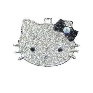 HUGE Hello Kitty Diamante Necklace By Jersey Bling ships