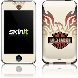 Skinit Harley Davidson Eagle Flames Vinyl Skin for iPod
