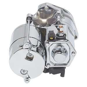 Fire Chrome 1.4KW Top Post Starter For Harley Davidson Automotive