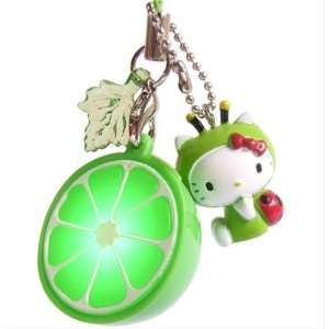 Hello Kitty (HK in Green Ladybug) Ipod Cell mobile Phone Lime charm