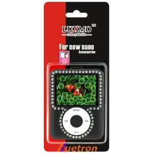 DIAMOND CASE FOR APPLE IPOD NANO 3RD GENERATION / BLACK Electronics