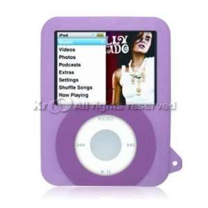Gel Silicone Skin Case For Apple iPod Nano 3rd Generation Electronics