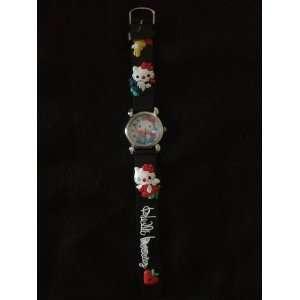 Childrens Hello Kitty Watch (Black)
