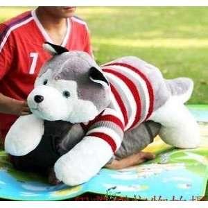 hot christmas gift plush dog toy + Toys & Games