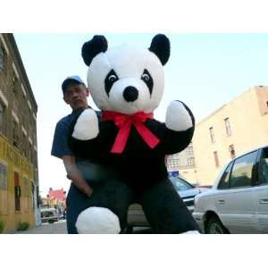 50 GIANT STUFFED PANDA   LIFESIZE GIANT HUGE BIG PLUSH STUFFED ANIMAL