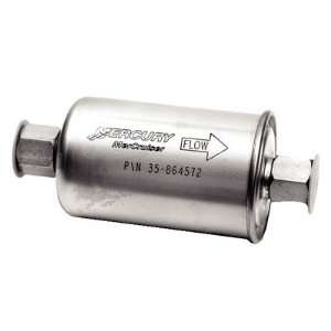 Fuel filter, inline, fits all MCM/MIE gasoline using a