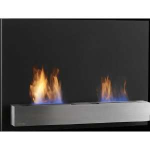 Safretti Riviera DU Wall Mount Indoor/Outdoor Bio Fireplace with Free