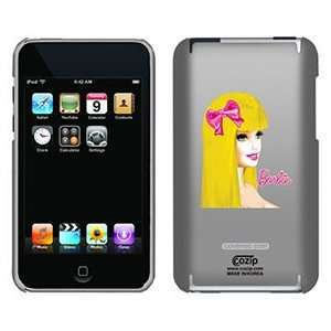 Barbie Face and Pink Bow on iPod Touch 2G 3G CoZip Case